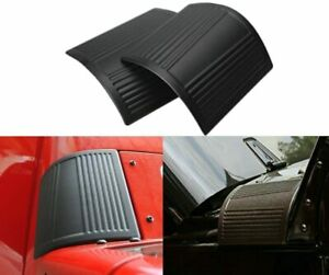 2pcs Cowl Body Armor Outer Cowling Cover Fit For Jeep Wrangler Rubicon Jk 07 17