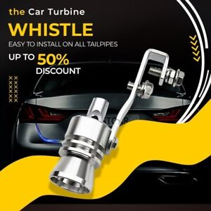 Multi purpose Car Turbo Whistle Car Refitting Exhaust Pipe Sound Universal Tail
