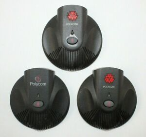 Lot Of 32 Polycom 2201 07155 605 External Microphone Soundstation 2 No Cable