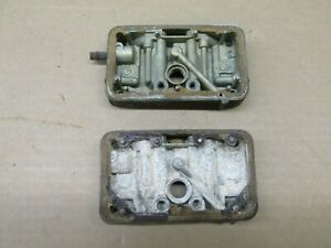 Holley 3310 780 Cfm Vac Secondary Carb Metering Blocks 5271 And 4519