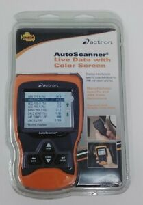 Actron Auto Scanner Live Data With Color Screen Cp9670