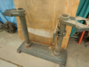 Vitnage Craftsman 6 Wood Jointer Cast And Pipe Base Assembly