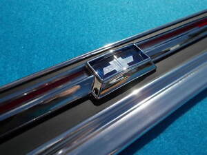 New 1967 Chevrolet Chevy Impala Ss 283 327 396 427 Trunk Lid Cove Molding