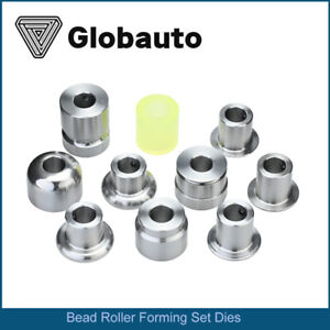 Globauto Bead Roller Metal Fabrication Forming Dies Set With Polyurethane Wheel