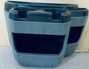 Ford E150 2003 2014 Gray Front Hood Trim Panel Floor Storage Console Cupholder