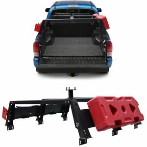 Texture Black Steel High Bed Rack Truck Luggage Carrier For Tacoma 2005 2020