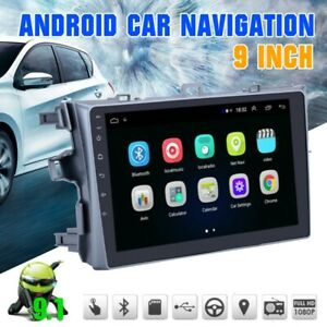 Fit Toyota Corolla 2006 2012 Android 9 1 Car Stereo Radio Gps Navigation Wifi Bt