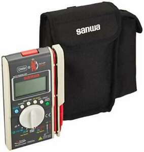 New Sanwa With Hybrid Mini Tester Case multimeter Clamp Meter Pm33ac F s