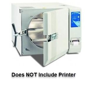 Tuttnauer 3870ea Large Capacity Automatic Autoclave Tabletop New Without Printer