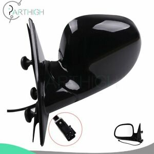 Driver Power Lh Side View Mirror For 94 97 Chevrolet S10 95 97 Blazer Truck Suv