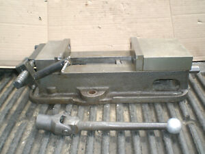 Kurt 6 D675 Milling Machine Vise With Work Stop And Handle