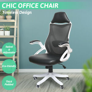 High Back Ergonomic Office Chair Executive Adjustable Computer Desk For Home