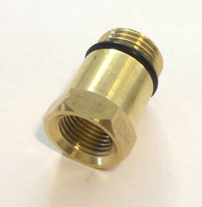 16mm M16 Compression Tester Spark Plug Adapter Brass Material Fits Most Kits