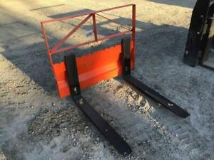 36 Pallet Forks W Backing Plate Fits Kubota Bx Series Tractors Stock 500802