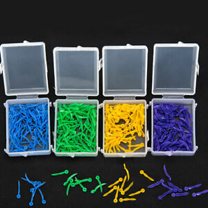 Pack Of 100 Dental Plastic Wedges With Dental Holes 4 Colors Xs s m l Fda
