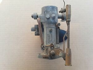 Zenith Carburetor Vintage Model 30vig 8 For Parts Or Rebuild