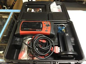 Snap On Solus Pro Car Scanner Eesc316 With Cords Charger Stand Diagnostic Tool