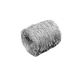 Durable Barbed Wire Fencing 2 wired 4 pointed High tensile Farmgard Usa Stock