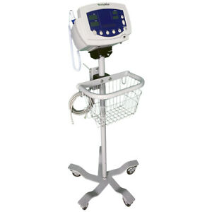 Welch Allyn Vital Signs Monitor 300 Series 530t0 nibp Temp Roll Stand