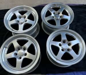 Fikse Corvette Wheels 2 17 X 10 2 17 X 9 5 Great Used Condition