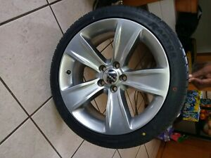Dodge Charger Rims And Brand New Riken Raptor Tires 225 40 Zr18 92w