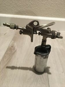 Binks Model 115 Professional Panel Touch up Paint Spray Gun Cup Made In Usa