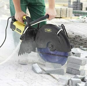 Stark 3200w Electric 16 Cutter Circular Saw Concrete Wet dry Saw Cutter Guide R