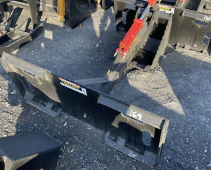 New Backhoe With 14 Bucket For Skid Steer Loader quick Attach Bobcat Cat Case