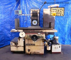 Make Offer Chevalier Fsg 3a818 Automatic Hydraulic Surface Grinder New Spindle