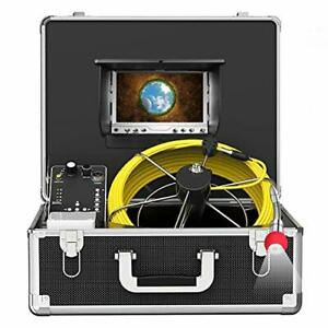 Pipe Inspection Camera Snake Cam With Dvr Drain Sewer Camera Ip68 Waterproof