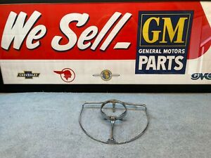 1940 Chevy Chevrolet Special Deluxe Steering Wheel Horn Ring Nos