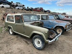 Jeepster Commando Hard Top Jeep Commando Have Most Headliner In Them