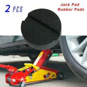 Universal Slotted Frame Floor Jack Stands Rubber Pad Lift Adapter Replacement