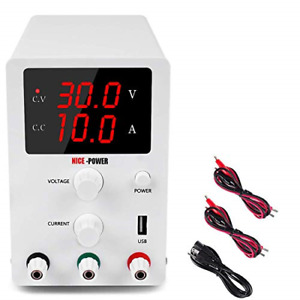 Dc Power Supply Variable 3 Digital Led Display Adjustable Regulated Switching