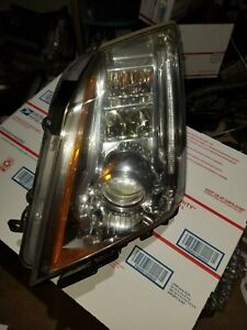 2008 2014 Cadillac Cts Left Driver Side Hid Xenon Headlight Headlamp