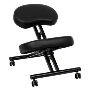 Ergonomic Kneeling Chair Home Office Chairs Thick Cushion Pad Flexible Seating