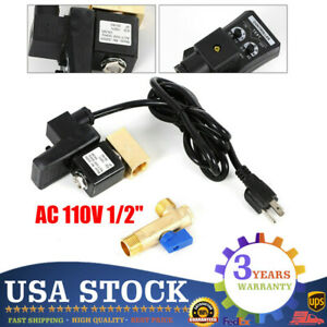 Automatic Electronic Timed Air Tank Water Moisture Drain Valve For Compressor Us