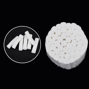 50pcs Dental Surgical Disposable Cotton Rolls 1 1 4x 3 8 High Absorbent Us