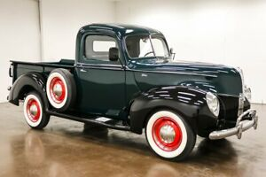 1940 Ford Other Pickups 1940 Ford Pickup 80423 Miles Green Truck Flathead V8 3 Speed Manual