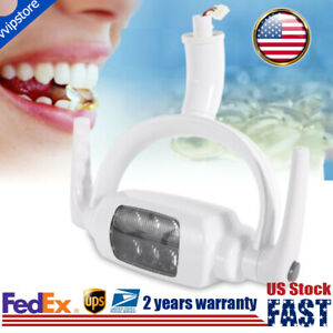 6 Led Dental Teeth Operating Lamp Oral Light Induction For Dental Unit Chair 8w