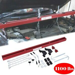 1100lbs Capacity Engine Load Leveler Support Bar Transmission W dual Hook Usa