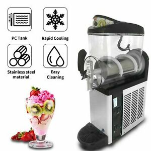 Commercial Frozen Drink Slush Machine Margarita Maker 12l Single Tank 700w