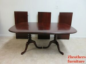 Pennsylvania House Cherry Dining Room Pedestal Table Banquet Conference