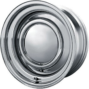 4 14x6 Chrome American Racing Vintage Smoothie Rim 5x114 3 5x120 65 6