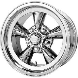 4 15x6 Chrome American Racing Vintage Torq Thrust D Rim 5x4 5 5x114 3 4