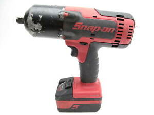 Snap On Ct8850 1 2 Cordless Impact Wrench 18v Tool And Battery Only
