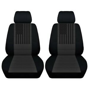 Seat Covers Fit A 2010 To 2020 Gmc Sierra American Flag On A Variety Of Colors