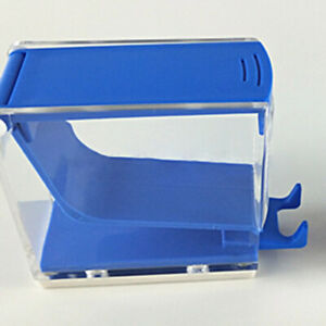 Dental Cotton Roll Dispenser Holder Push Style Organizer Deluxe W Pull out Tray