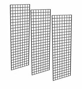 Only Garment Racks Commercial Grade Gridwall Panels Heavy Duty Grid Panel