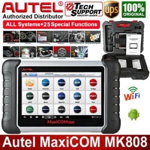 Autel Mk808 Car Scanner Full System Auto Diagnostic Tool Code Reader Immo Tpms